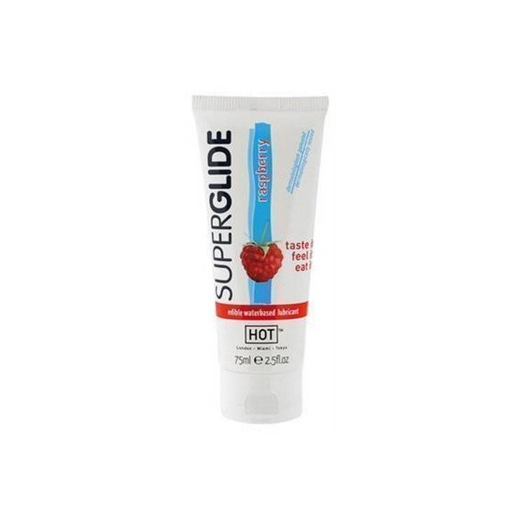 LUBRIFICANTE AL LAMPONE COMMESTIBILE 75ml SUPERGLIDE