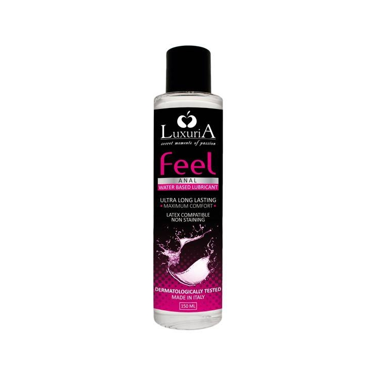 LUBRIFICANTE ANALE LUXURIA FEEL ANAL 150 ML