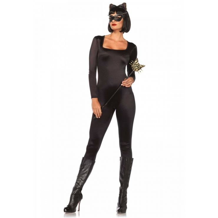 CATSUIT IN SPANDEX NERA
