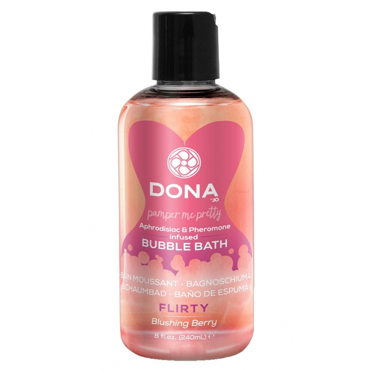 SCHIUMA PER BAGNO BUBBLE BATH BLUSHING BERRY 240 ML