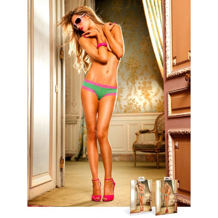 COULOTTE SEXY IN PIZZO PER DONNA