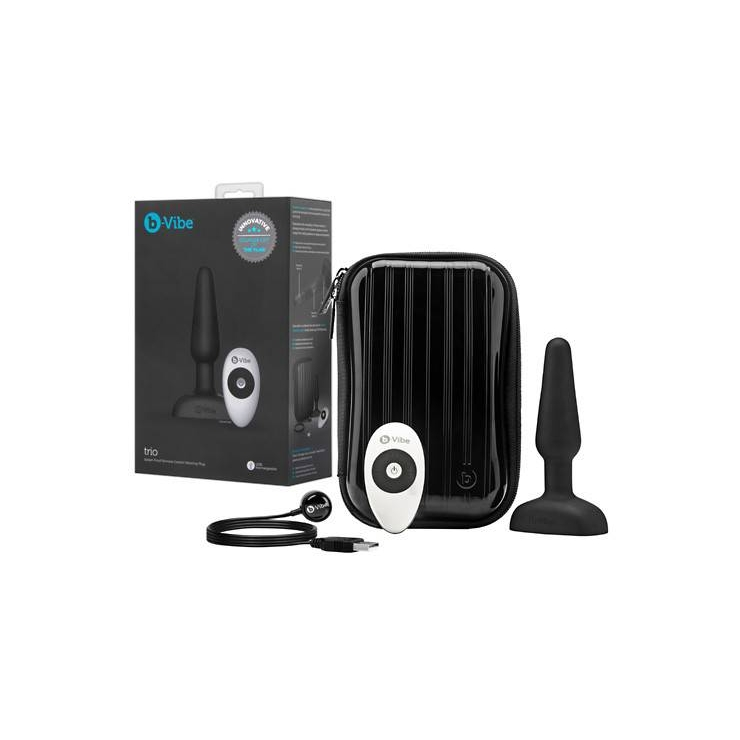 PLUG ANALE VIBRANTE WIRELESS B-VIBE TRIO