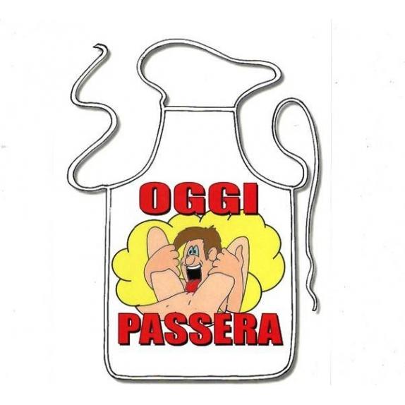 GREMBIULE SEXY SCHERZOSO MAXY OGGI PASSERA