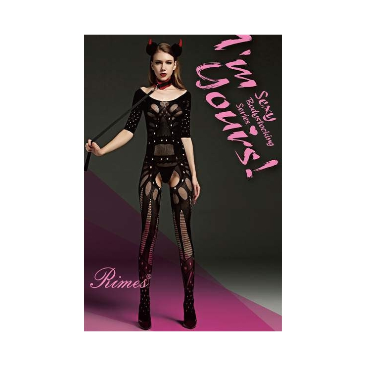 BODYSTOCKING SEXY A RETE APERTA ALL'INGUINE