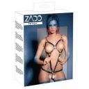 BODY IN PELLE SEXY HARNESS PER DONNA APERTO SUL SENO