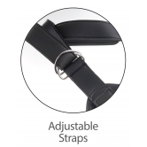 STRAP ON CON FALLO CON PREPUZIO MOBILE SEX TOY 7 INCH