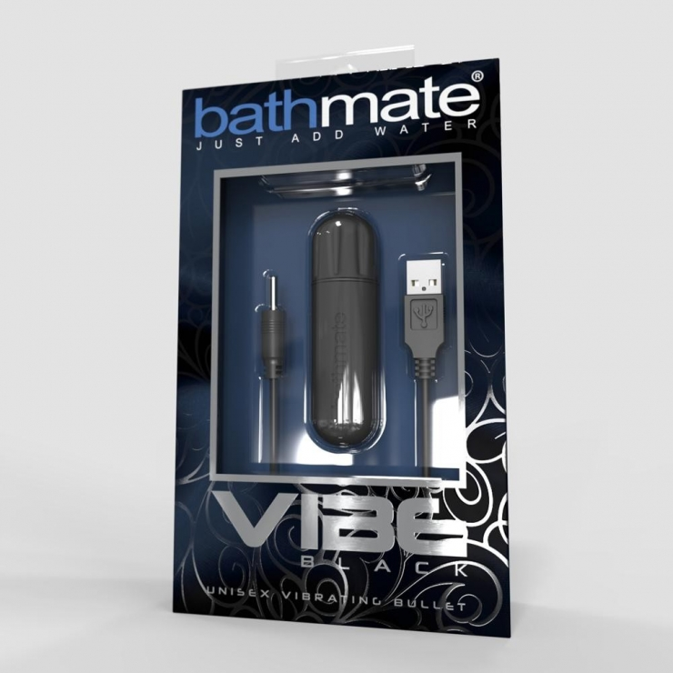 BULLET VIBRANTE RICARICABILE SEX TOY MINI VIBRATORE BATHMATE