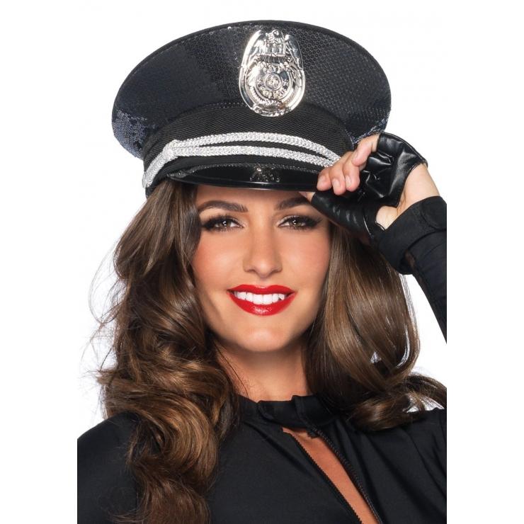 CAPPELLO PER SEXY TRAVESTIMENTO DA POLIZIOTTO-POLIZIOTTA