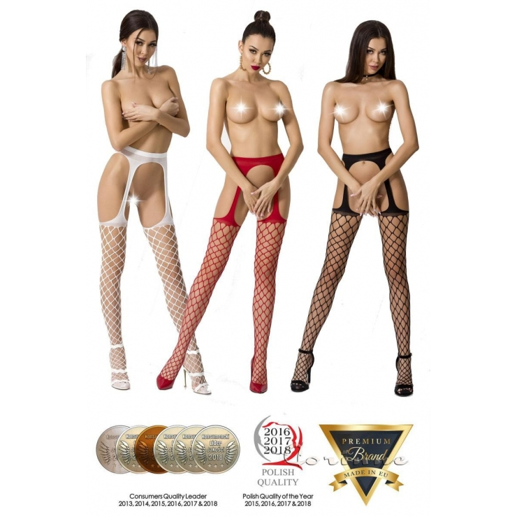COLLANT SEXY PER DONNA APERTI A RETE LARGA