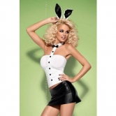 COSTUME DA CONIGLIETTA SEXY BUNNY SKIRTY SET