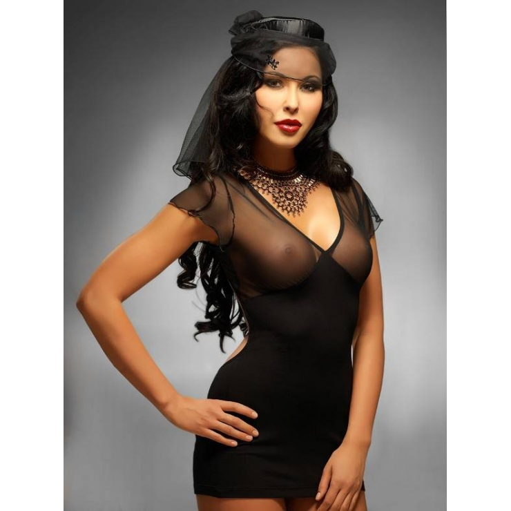 COSTUME SEXY DA VEDOVA LADY IN BLACK