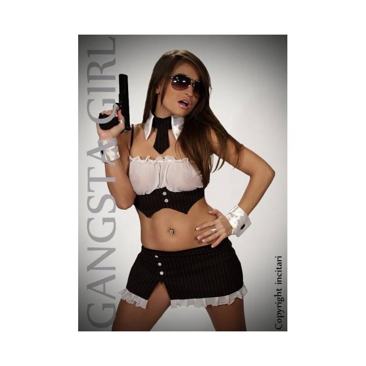 COSTUME SEXY DA GANGSTER PER DONNA