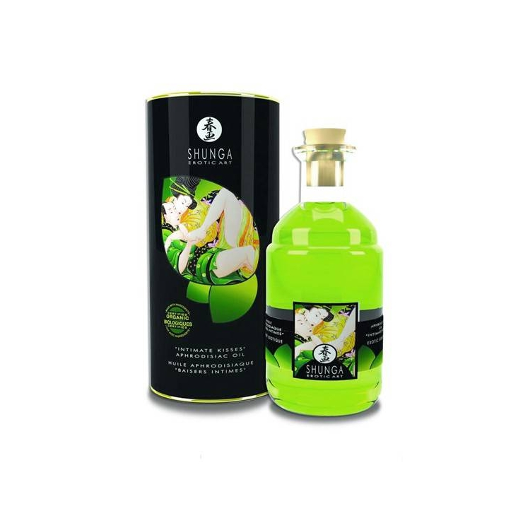 INTIMATE KISSES OLIO DA MASSAGGI THE VERDE 100 ML