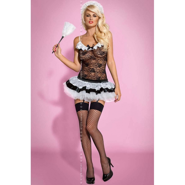 COSTUME TRAVESTIMENTO CAMERIERA SEXY HOUSEMAID