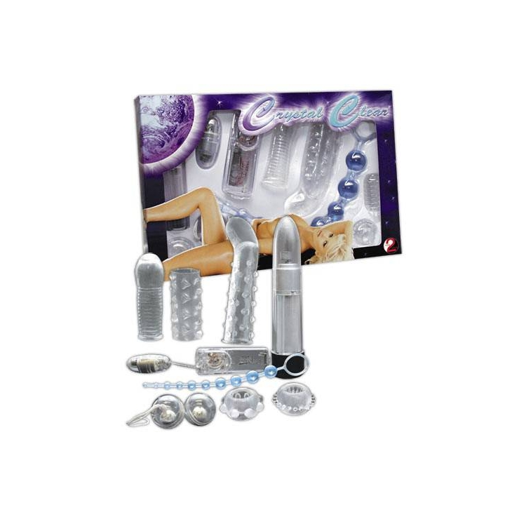 CRYSTAL CLEAR KIT VIBRATORI