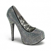 SCARPA DECOLTE' BORDELLO CON STRASS