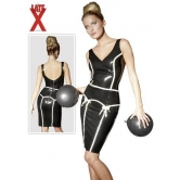 KLEID VESTITO IN LATEX PIN UP
