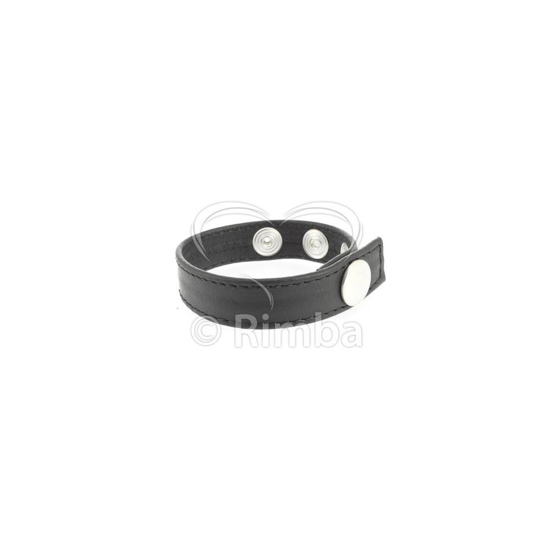 COCK RING ANELLO PER PENE REGOLABILE IN PELLE LEATHER